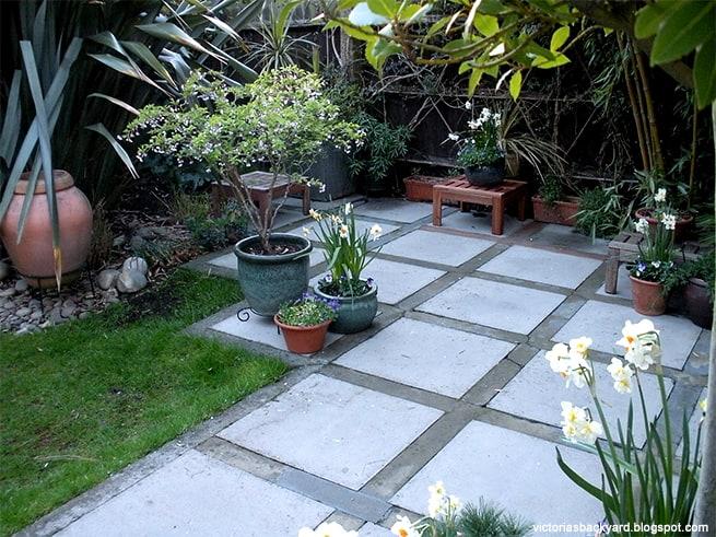 ריצוף חוץ אמנותי שמשנה לחלוטין את מראה הבית או הגינה