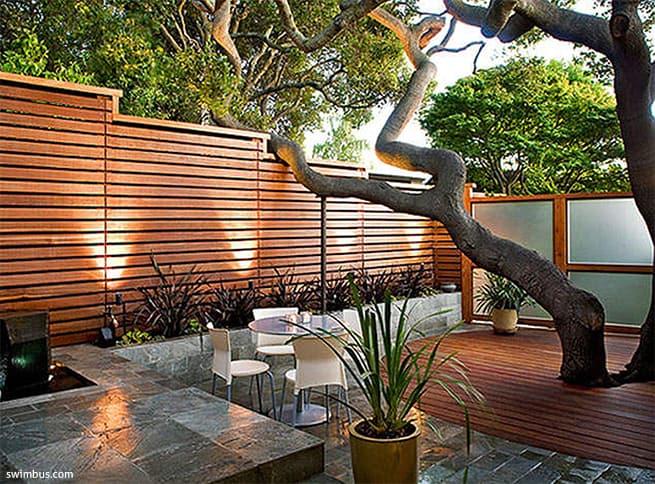 בטון מוחלק לגינה